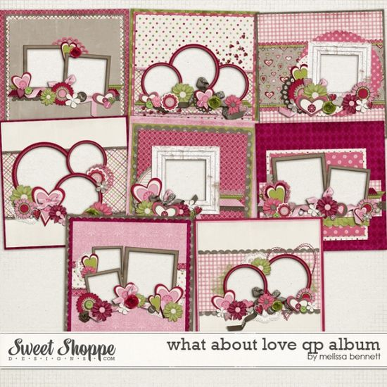 Scrapbook page layouts
