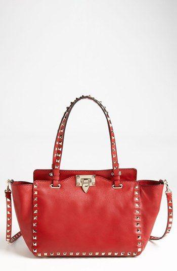 Must-have designer handbag: Valentino Rockstud - Mini Vitello Tote