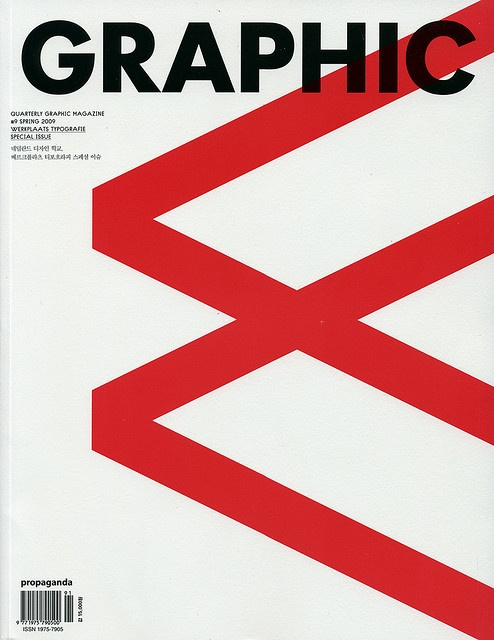 Graphic: Issue 09: magazine cover