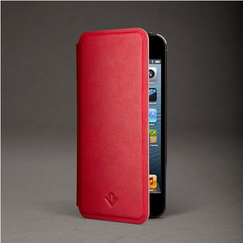 SurfacePad for iPhone - new super slim, real leather cases that actually prop up on the back, like iPad cases.