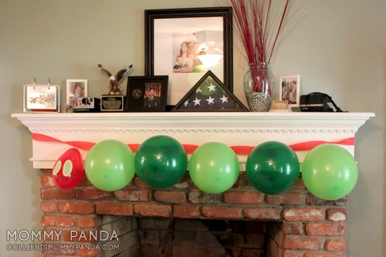 Hungry Caterpillar birthday party ideas