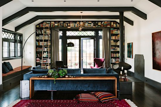 BLISS - library house Jessica Helgerson Interior Design photography: Lincoln Barbour