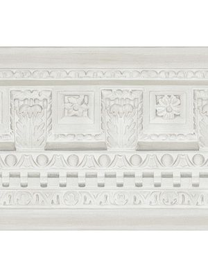 Cole & Son Georgian Border-White $132.50 per 11 yard roll #interiors #decor #royaldecor
