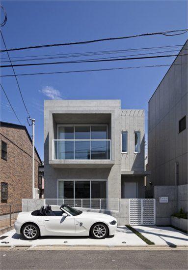 Modern Zen Design House I - Tokyo, Japan - 2012 Ryushi Kojima #architecture #japan #concrete