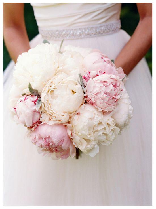 beautiful bouquet of peonies...