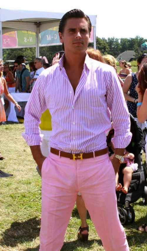 who says men can't wear pink???