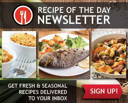 Sign Up for the Recipe of the Day Newsletter!