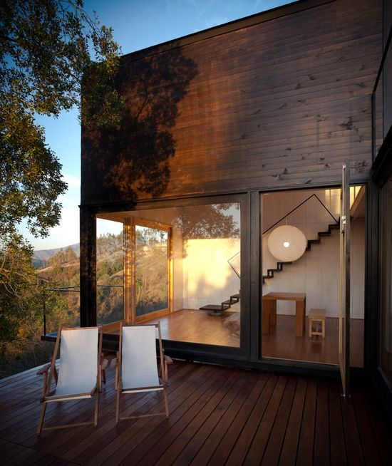 refugio pangal by EMa arquitectos #wood #view #nature #architecture #interior #design