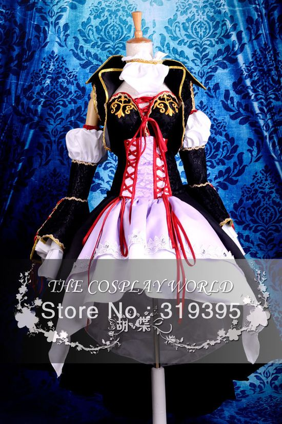VOCALOID 2 LUKA Uniform Cosplay Costume Halloween Top Quality Performance Clothing CCF0208