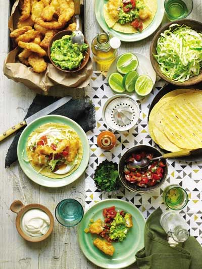 Fish Tacos /