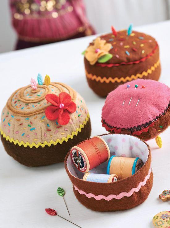 cake pincushions