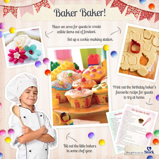 Baking themed #party ideas