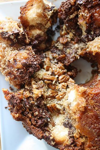 German Chocolate Monkey Bread