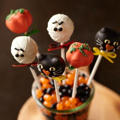 Halloween Cake Pops, Pumpkin
