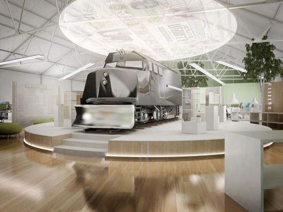 Invensys Rail Office Design Concept