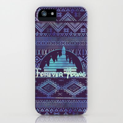 forever young iPhone Case by Sara Eshak - $35.00