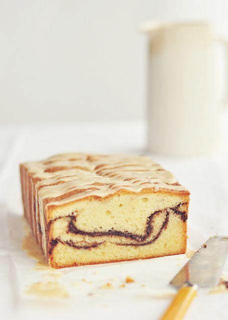 My sweet Italian husband would gleefully wolf this down! :D Nutella Swirl Pound Cake. #cake #pound #Nutella #chocolate #Italian #food #hazelnut #baking #dessert