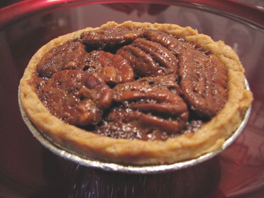 Mini Bourbon Chocolate Pecan Pie Recipe - Cooking by the seat of our pants