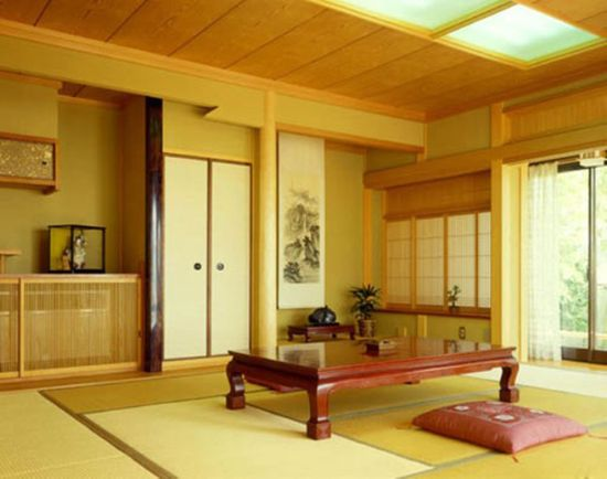 Beautiful And Cozy Japanese Living Room Design