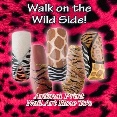 Nail Art How To: Wild Animal Print Nail Tutorials