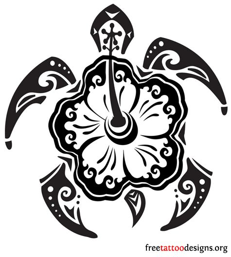 hawaiian honu tattoo designs - Google Search