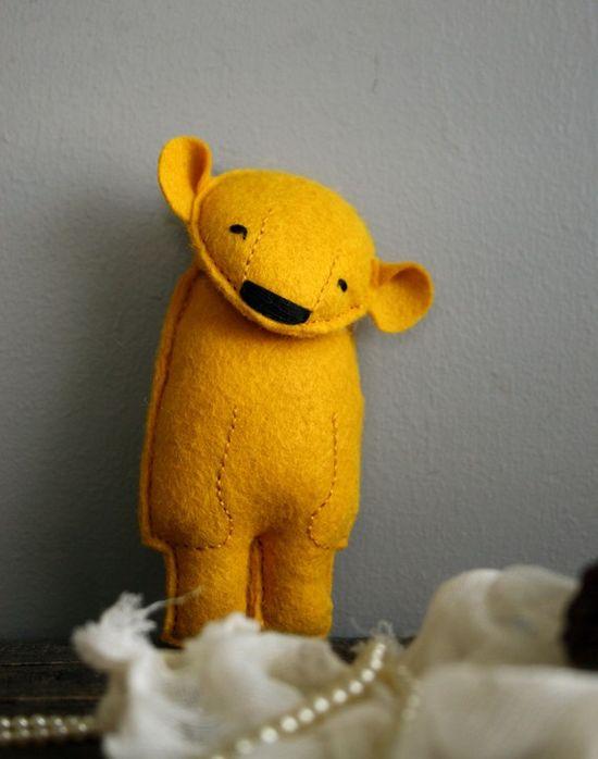Felt bear