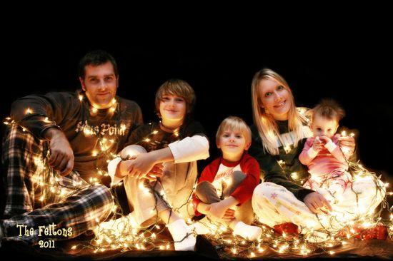 Christmas Card Family Photo