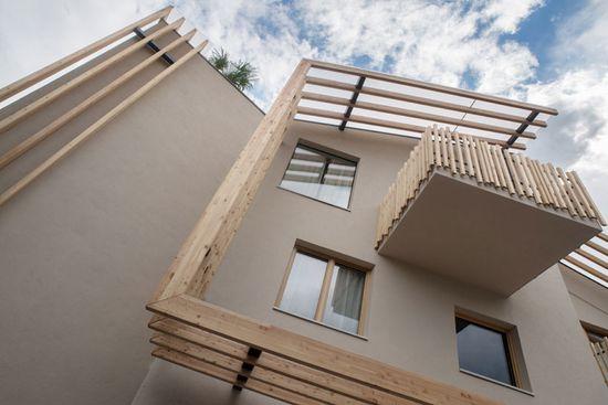 noa* extends panorama hotel in italy's kaltern vineyard region - designboom