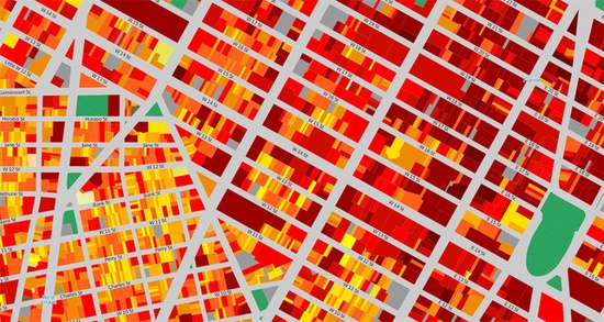 A Mind-Blowing Map Of Energy Consumption In Every Single NYC Building