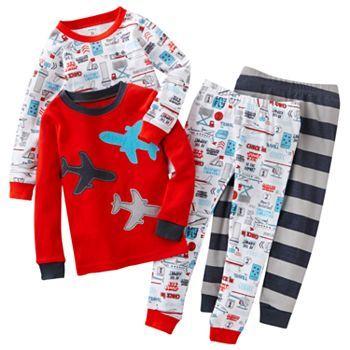 Carter's Airplane pajamas! These are so cute.