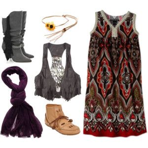 DIY Fashion How to Get the BoHo Look