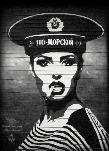 'Manchester - cool street art.. i love this!'... ?