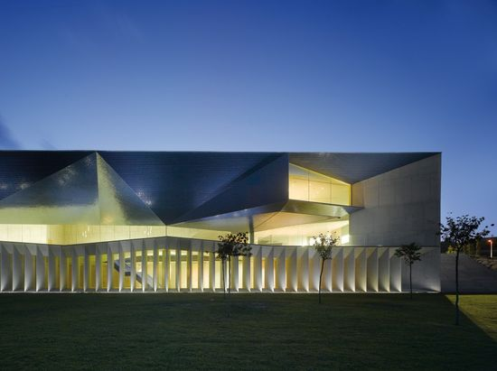 Municipal Auditorium of Teulada, Alicante, Spain by Francisco Mangado y Asociados