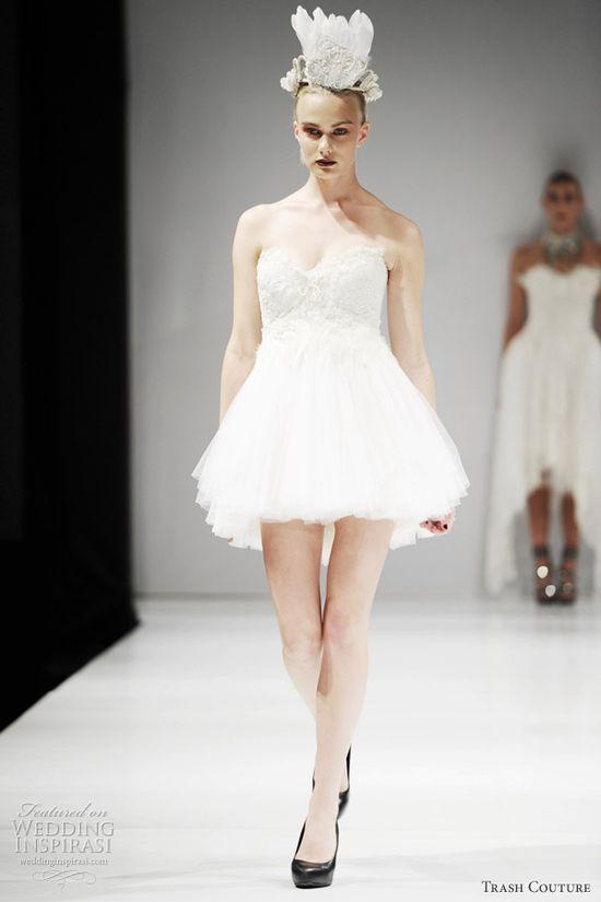 white swan wedding dress 2012
