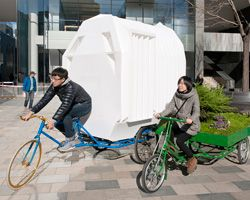 tricycle house by people's industrial design office