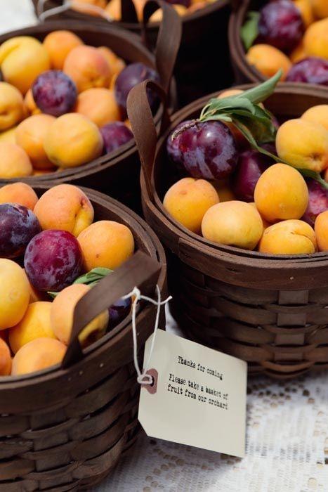 baskets of fruit