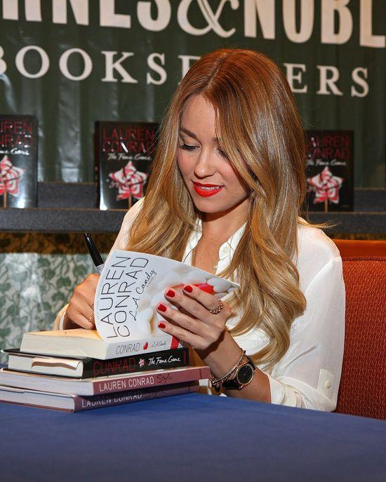 Lauren Conrad's Book Signing
