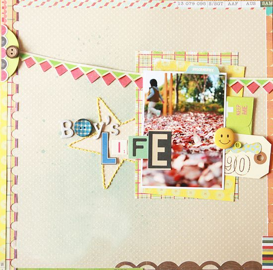 #papercrafting #scrapbook #layout some scrapping inspiration :-)