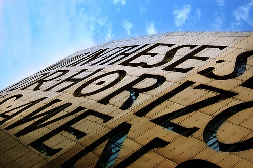 Cardiff's beautiful Wales Millennium Centre - home to our Love to Death: Transforming Opera conference.      Horizons Sing by JohnGreenaway, via Flickr.