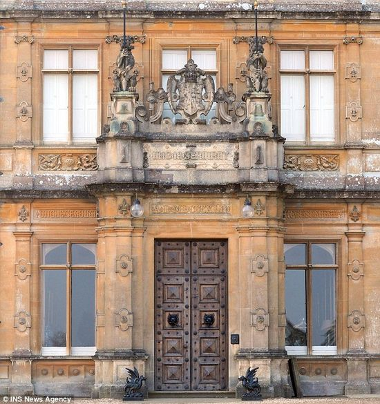 Highclere Castle's (Downton Abbey) main doors
