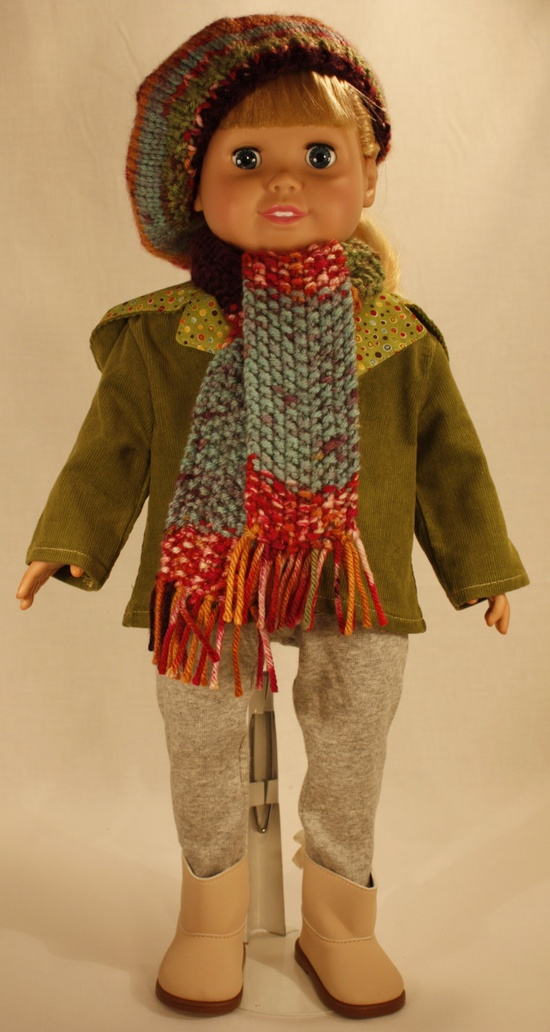 18 Inch Doll Clothes - How Cute Is This. $35.00, via Etsy.