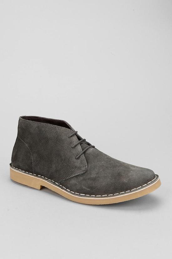 Grey desert boot