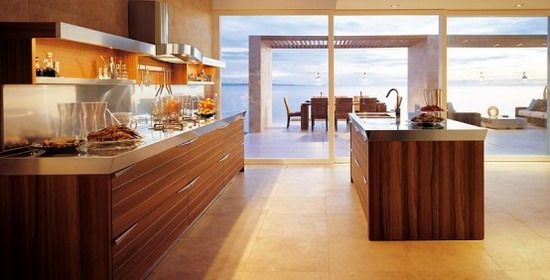 Wood-Furniture-Decoration-in-Modern-Kitchen-Design.jpg (550×280)