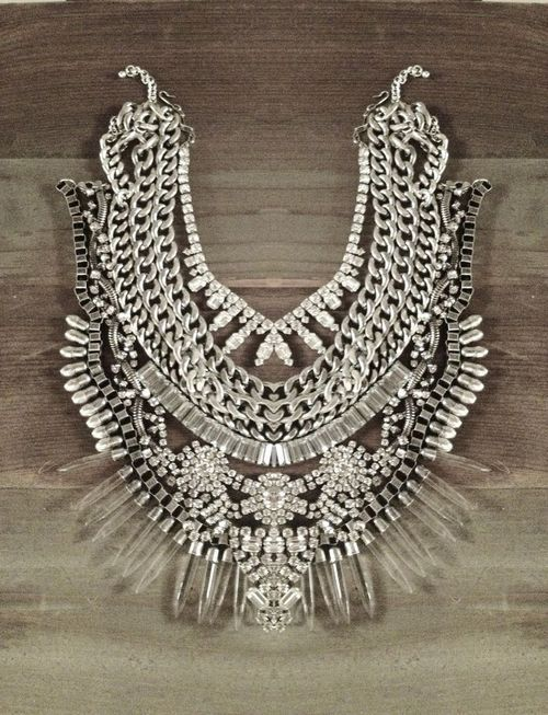 Could this be made from broken jewelry.  Very likely and it is a WOW.