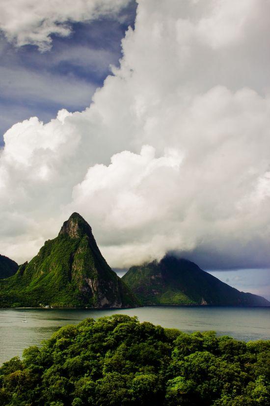 Le Pitons, St. Lucia