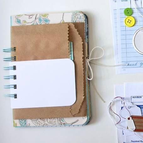 mixed media notebook