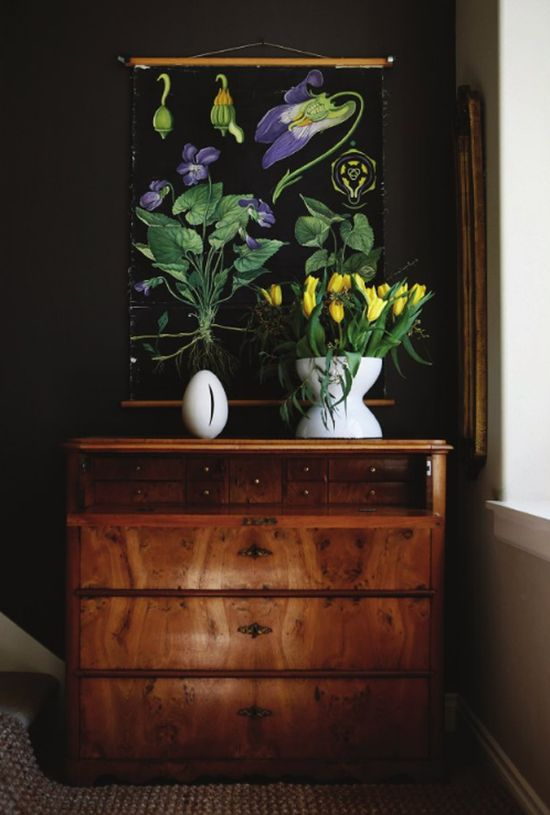 Monika's home via Rue Magazine.  Photo: Belathee Photography.