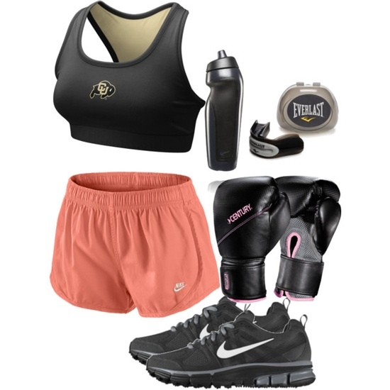 Physical Exercise 44 (MMA), created by lifeofstar on Polyvore