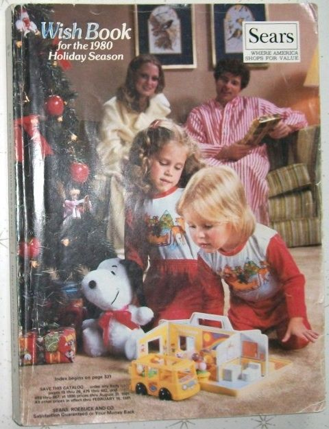 Vintage Sears Wish Books. The most awesome toys and humiliating fashions from our childhood.