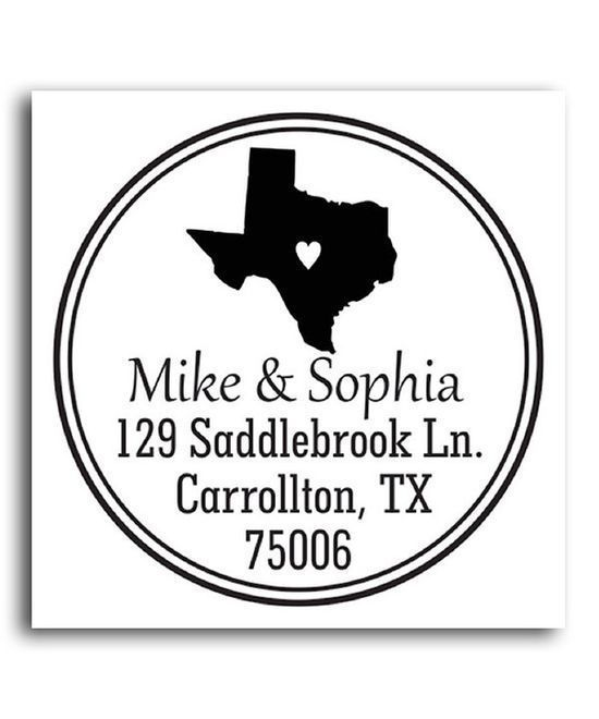 Take a look at this Texas Classic Personalized Self-Inking Stamp on zulily #softskills #self personality #soft #self personality #soft skills